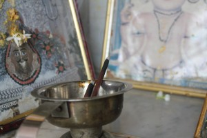 Incense and prayer