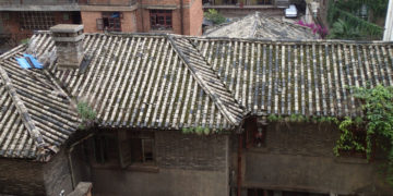 old Chinese roof