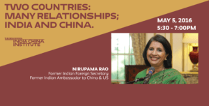 Two Countries: Many Relationships; India and China @ Orozco Room (7th flr), The New School